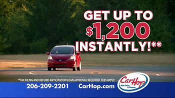 CarHop Auto Sales & Finance TV Spot, 'Don't Wait for Your Tax Refund'
