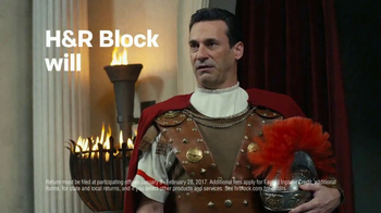 H&R Block TV Spot, 'Rome' Featuring Jon Hamm - Thumbnail 5