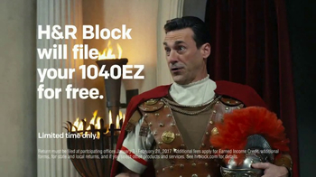 H&R Block TV Spot, 'Rome' Featuring Jon Hamm - Thumbnail 6