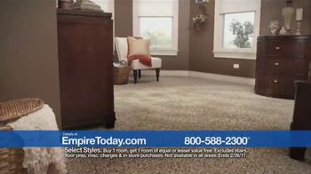 Empire Today Buy One Get One Free Sale TV Spot, 'Carpet, Hardwood, Tile' - Thumbnail 2