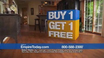 Empire Today Buy One Get One Free Sale TV Spot, 'Carpet, Hardwood, Tile' - Thumbnail 6