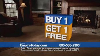 Empire Today Buy One Get One Free Sale TV Spot, 'Carpet, Hardwood, Tile' - Thumbnail 7