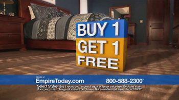 Empire Today Buy One Get One Free Sale TV Spot, 'Carpet, Hardwood, Tile' - Thumbnail 8