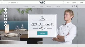 Wix.com TV Spot, 'Chez Felix Bistro' - Thumbnail 3