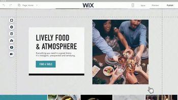 Wix.com TV Spot, 'Chez Felix Bistro' - Thumbnail 7