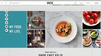 Wix.com TV Spot, 'Chez Felix Bistro' - Thumbnail 8