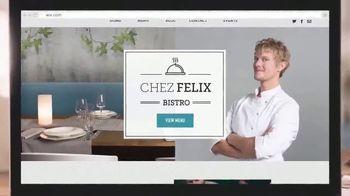 Wix.com TV Spot, 'Chez Felix Bistro'