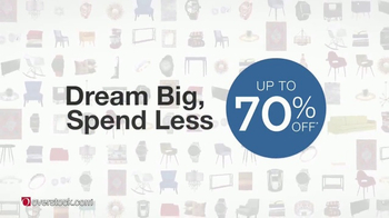 Overstock.com Dream Big, Spend Less Event TV Spot, 'Redecorate' - Thumbnail 1