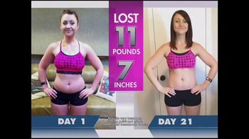21 Day Fix TV Spot, 'Lose Pounds and Inches'