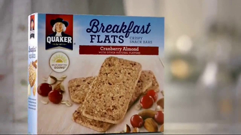 Quaker Breakfast Flats TV Spot, 'Keep You Going' - Thumbnail 1