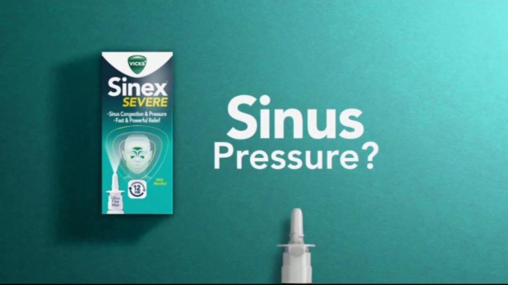 Vicks Sinex Severe Tv Commercial Sinus Congestion