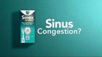 Vicks Sinex Severe TV Spot, 'Sinus Congestion?' - Thumbnail 1