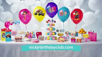 Nick Jr. Birthday Club TV Spot, 'Call From A Nick Jr. Friend' - 124 commercial airings