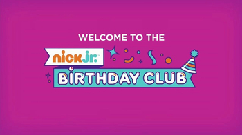 Nick Jr. Birthday Club TV Spot, 'Call From A Nick Jr. Friend' - Thumbnail 2