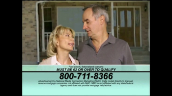 National Media Connection TV Spot, 'Reverse Mortgage Loan for Seniors'