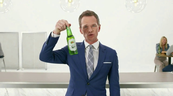Heineken Light TV Spot, 'Hypnotize' Featuring Neil Patrick Harris - 7432 commercial airings