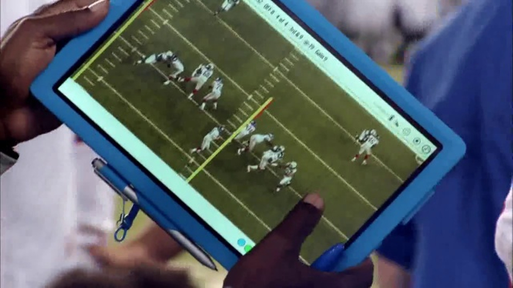 Microsoft Surface TV Commercial, 'NFL Sidelines: Steelers vs. Chiefs'