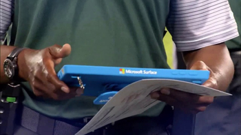 Microsoft Surface TV Spot, 'NFL Sidelines: Steelers vs. Chiefs' - Thumbnail 1