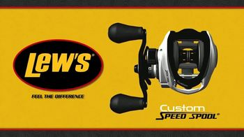 Lew's Custom Speed Spool TV Spot, 'Low Profile Design'