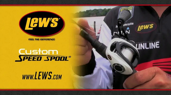 Lew's Custom Speed Spool TV Spot, 'Low Profile Design' - Thumbnail 5
