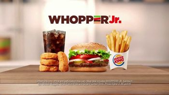 Burger King Whopper Jr. Meal Deal TV Spot, 'Going Crazy' - Thumbnail 1