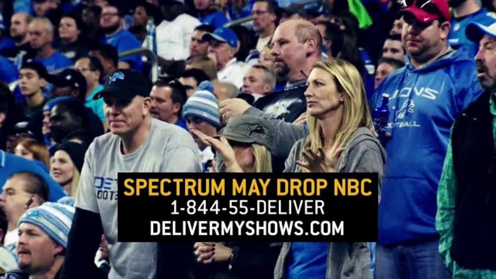 NBC Universal TV Commercial, 'NBC: Spectrum May Drop Sunday Night Football'
