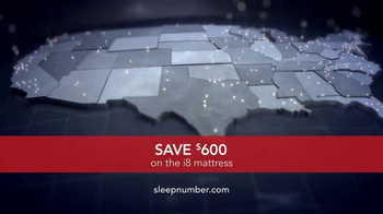 Sleep Number TV Spot, 'Choose: i8 Mattress' - Thumbnail 7