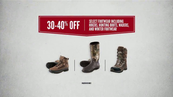 Cabela's After Christmas Clearance TV Spot, 'Boots, Coats & Base Layers' - Thumbnail 4