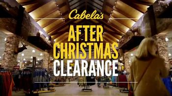 Cabela's After Christmas Clearance TV Spot, 'Boots, Coats & Base Layers' - 483 commercial airings