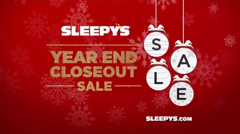 Sleepy's Year End Closeout Sale TV Spot, 'Free Box'