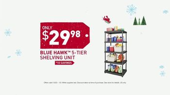 Lowe's Winter Savings Event TV Spot, 'Tote and Shelves'