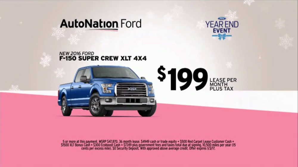 Autonation Year End Event Tv Commercial O Christmas Tree