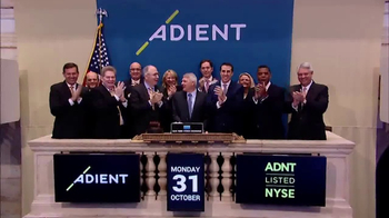 New York Stock Exchange TV Spot, \'Adient\'