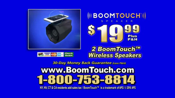 Boom Touch TV Spot, 'Booming Sound' - Thumbnail 8