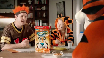 Cinnamon Frosted Flakes TV Spot, 'Victory' - Thumbnail 9
