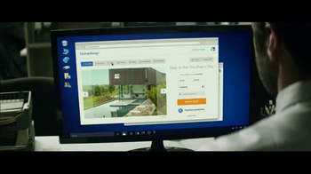 HomeAway TV Spot, 'Get HomeAway From It All' - Thumbnail 3