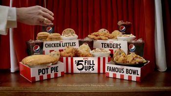 KFC $5 Fill Ups TV Spot, 'Chicken Little Variety' - 2314 commercial airings