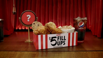KFC $5 Fill Ups TV Spot, 'Chicken Little Variety' - Thumbnail 5