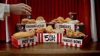 KFC $5 Fill Ups TV Spot, 'Chicken Little Variety' - 2314 commercial airings