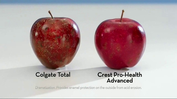 Crest Pro-Health Advanced TV Spot, 'Like an Apple' - Thumbnail 9