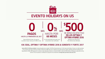 Kia Evento Holidays on Us TV Spot, 'Bono en efectivo' [Spanish] - Thumbnail 6