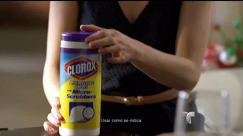 Clorox Disinfecting Wipes TV Spot, 'Telemundo: fiestas' [Spanish] - Thumbnail 3