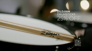 Guitar Center New Year, New Gear Sale TV Spot, 'Drums and Drumsticks' - Thumbnail 8