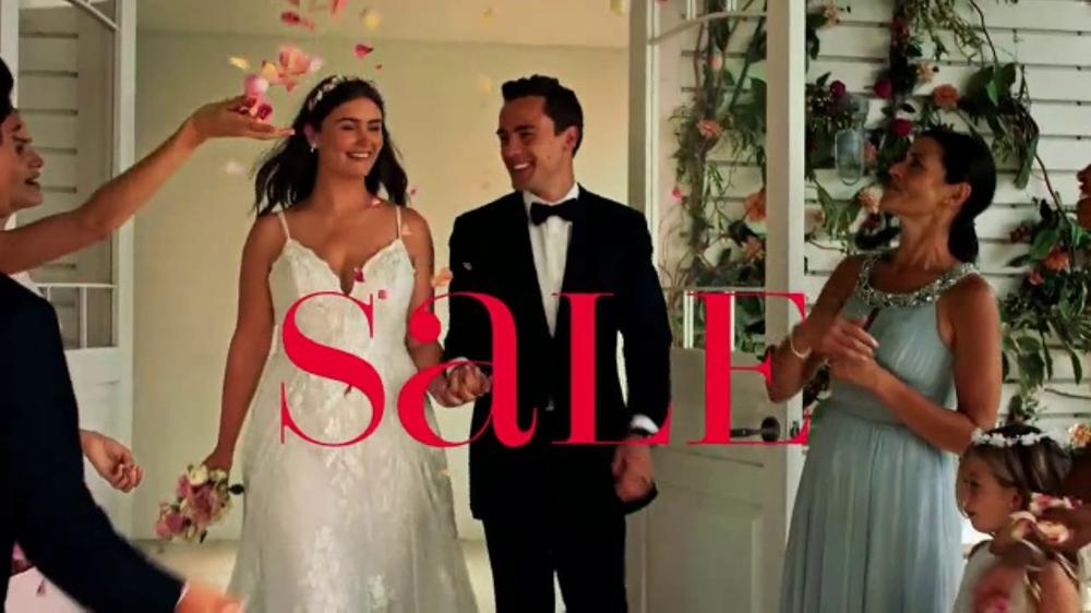 Davids Bridal 99 Sale TV Commercial Dream Dresses
