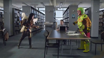 Hearthstone TV Spot, 'Take This Inside: Library'