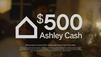 Ashley HomeStore New Year's Savings Bash TV Spot, 'Ashley Cash' - Thumbnail 3