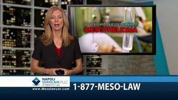 Napoli Shkolnik PLLC TV Spot, 'Mesothelioma: Free Book' - Thumbnail 1