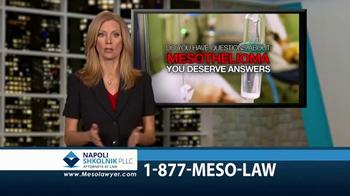 Napoli Shkolnik PLLC TV Spot, 'Mesothelioma: Free Book'