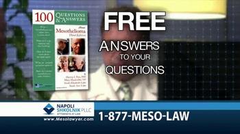 Napoli Shkolnik PLLC TV Spot, 'Mesothelioma: Free Book' - Thumbnail 4