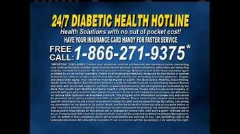 24/7 Diabetic Health Hotline TV Spot, 'Testing Supplies' - Thumbnail 7